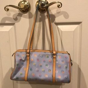 Dooney & Bourke Barrel IT Bag in Powder Blue